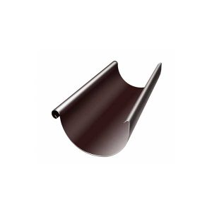 zhelob-polukruglyy-125-mm-3-m-shokolad-ral-8017-korichnevyy
